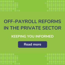 Off-Payroll Reforms